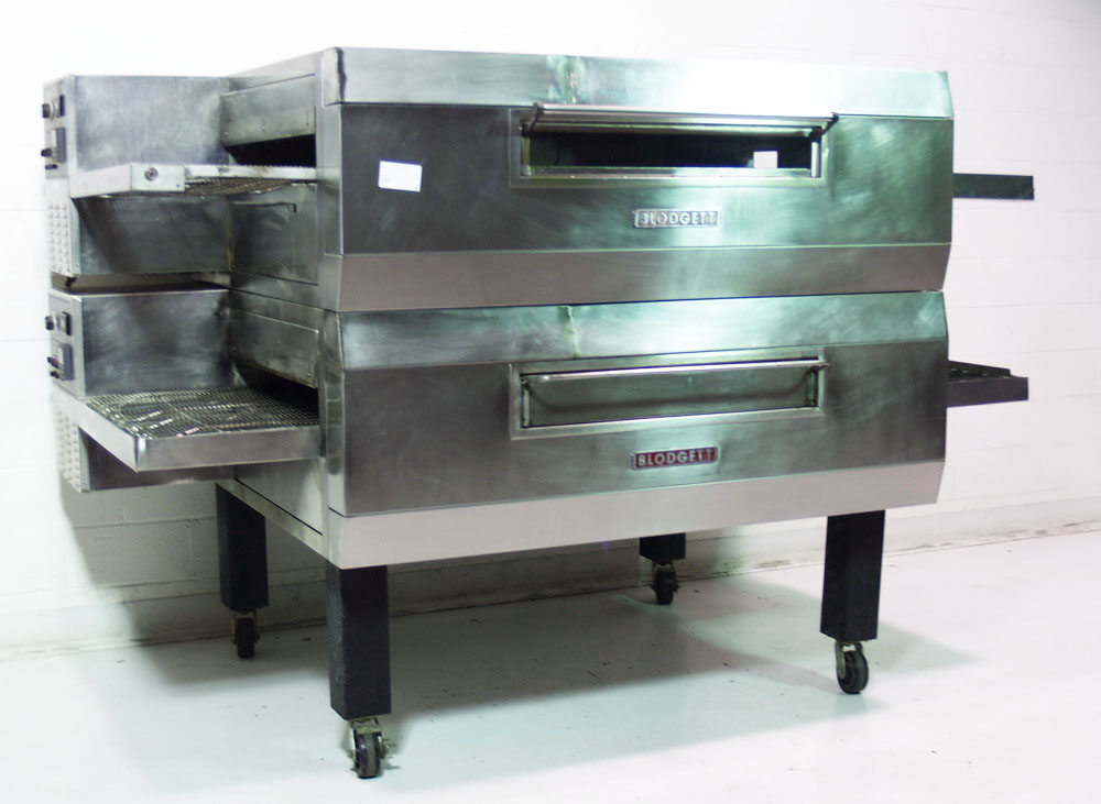 Used Blodgett Mt3270 Double Deck Pizza Conveyor Oven 32