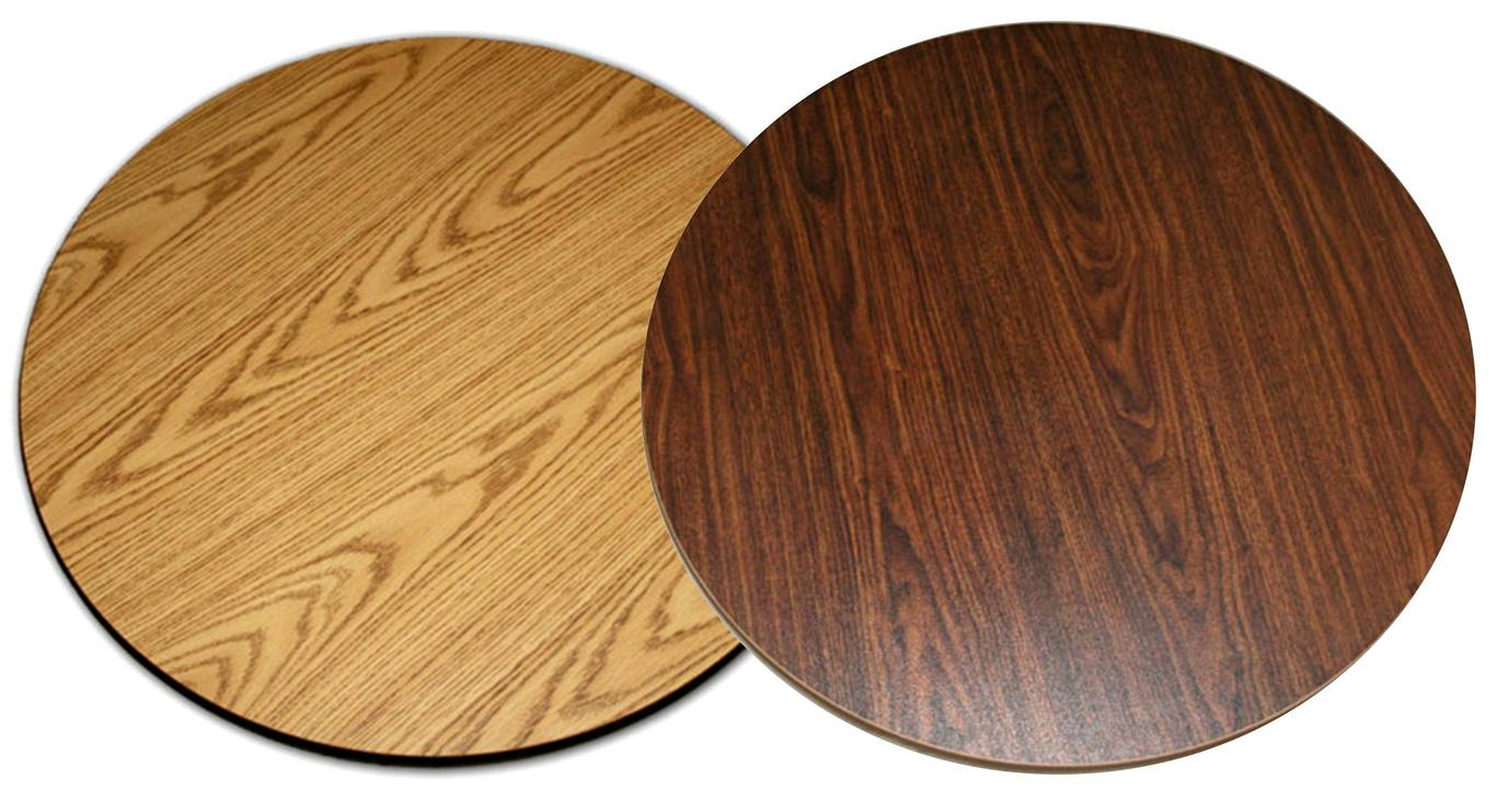 All About Furniture Dt42r Reversible 42 Quot Round Wood Grain
