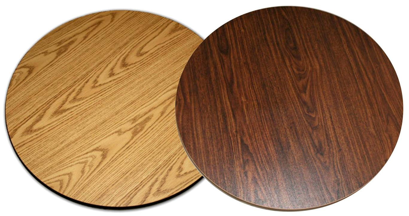All About Furniture Dt60r Reversible 60 Quot Round Wood Grain