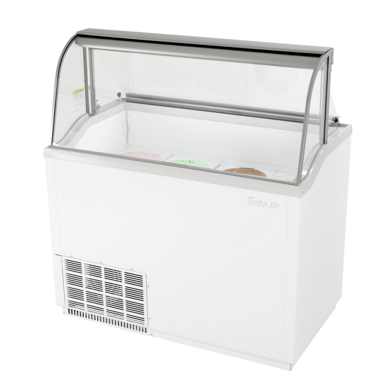 ice cream dipping cabinet turbo air tidc 47w 12 7cf dipping cabinet holds 17466