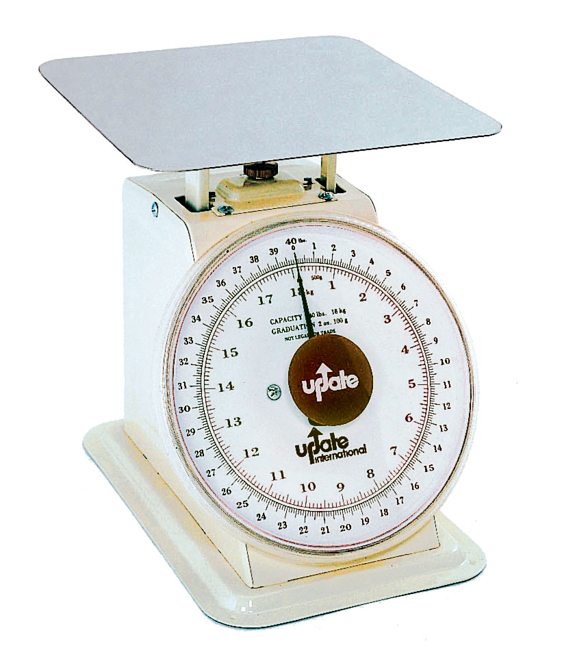 Low Cost Kitchen Updates: Update UP-840 40lb Food Kitchen Scale W/ 8in Dial