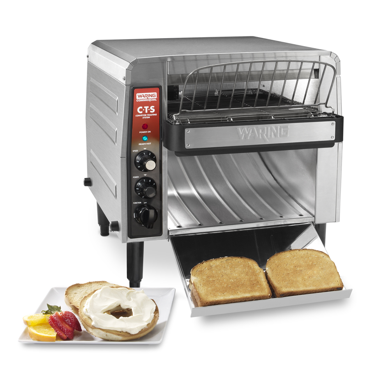 Electric Conveyor Toaster ~ Waring cts b electric conveyor toaster oven slices
