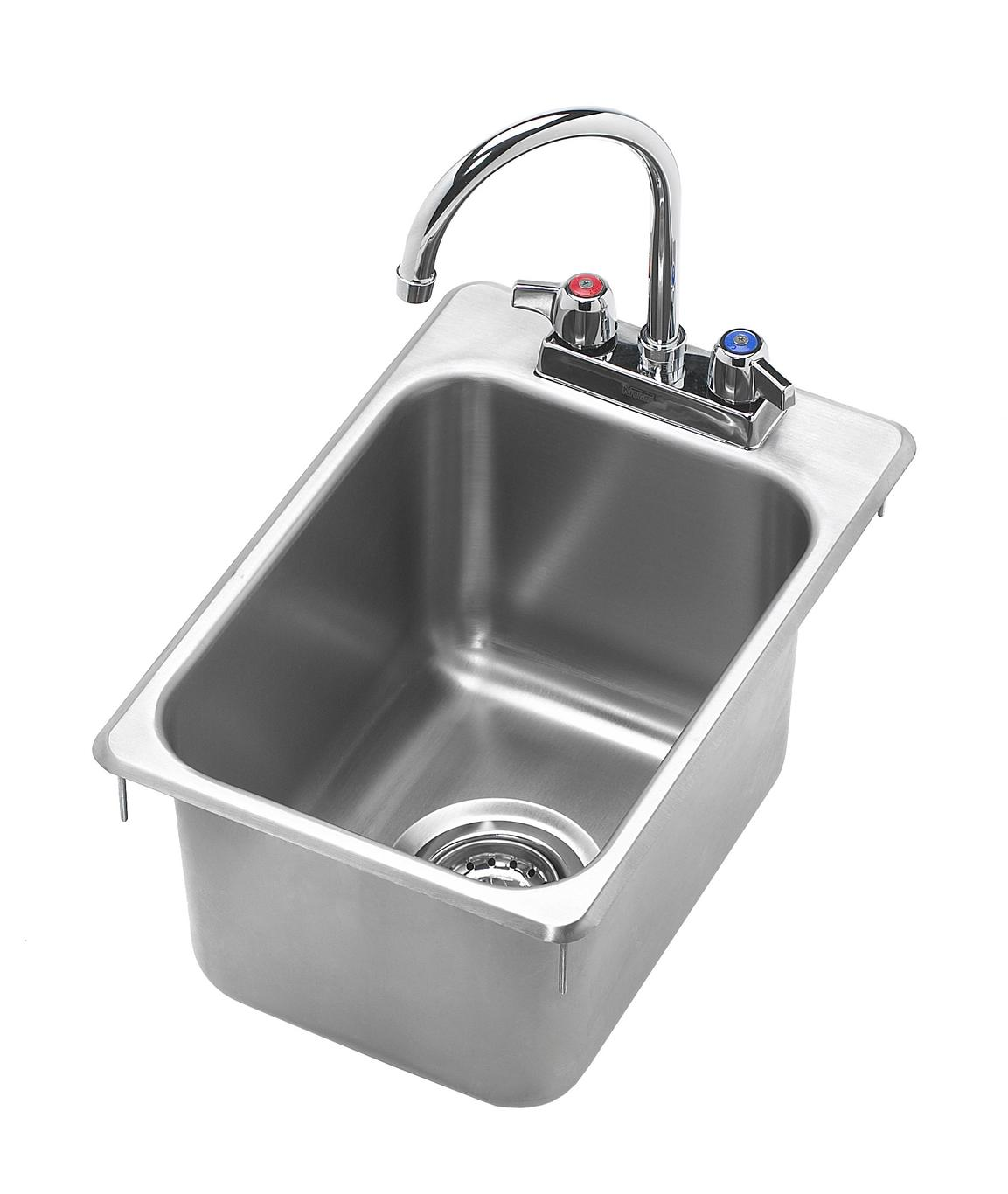 Krowne Metal Hs 1419 12 Quot X 18 Quot Drop In Hand Sink W 6