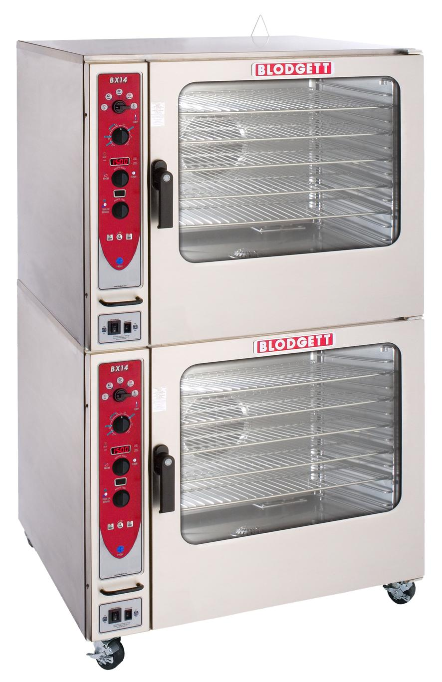 Restaurant Kitchen Oven blodgett bx-14e dbl double deck electric combi oven & steamer w