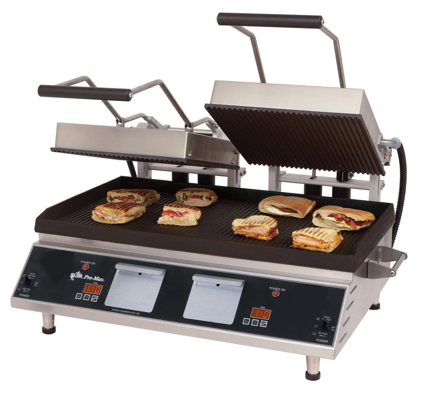 star cr28ie pro max two sided grill 14 x 28 hd smooth iron grill. Black Bedroom Furniture Sets. Home Design Ideas