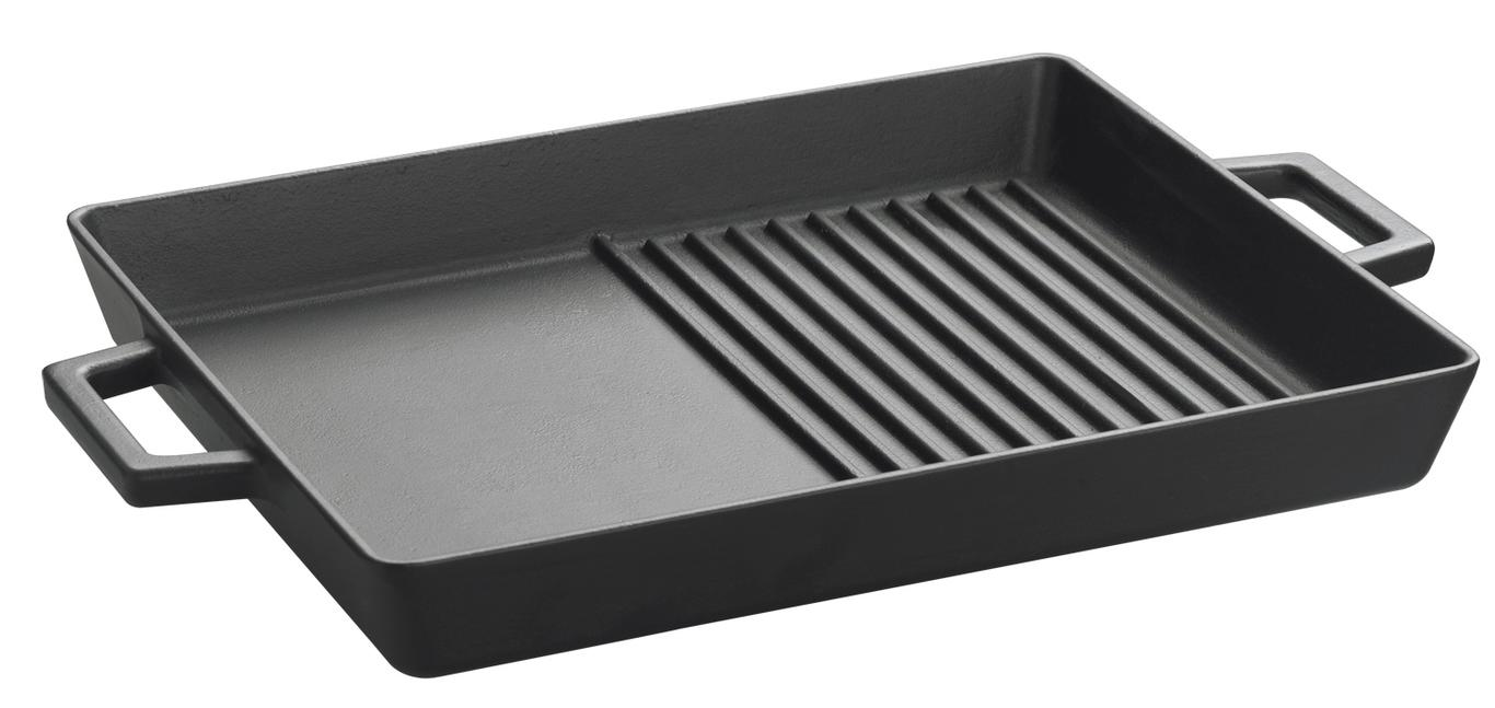Lava Cookware LVECOGT2632T4 ECO 10 Inch x 12 Inch Grill