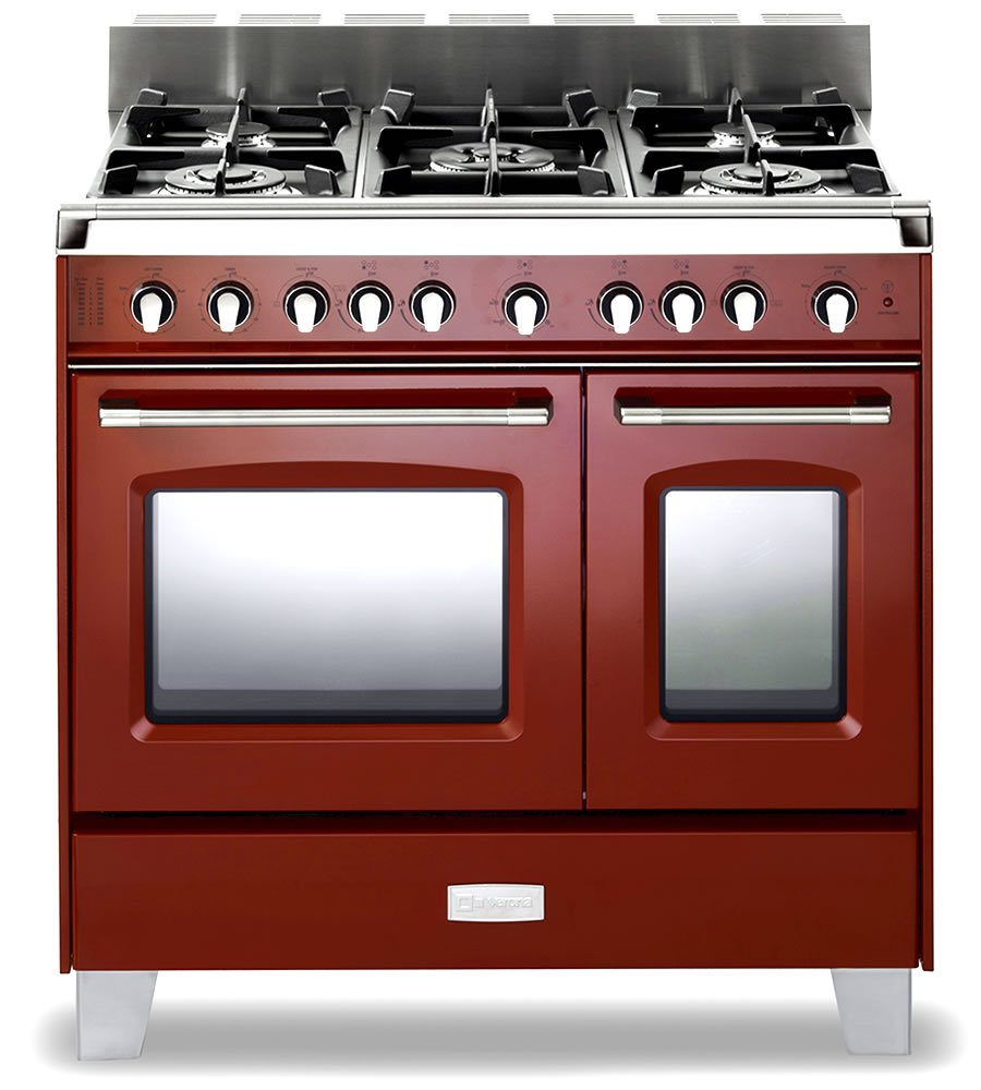 verona vclfsgg365dr classic series s s 36 gas double oven range