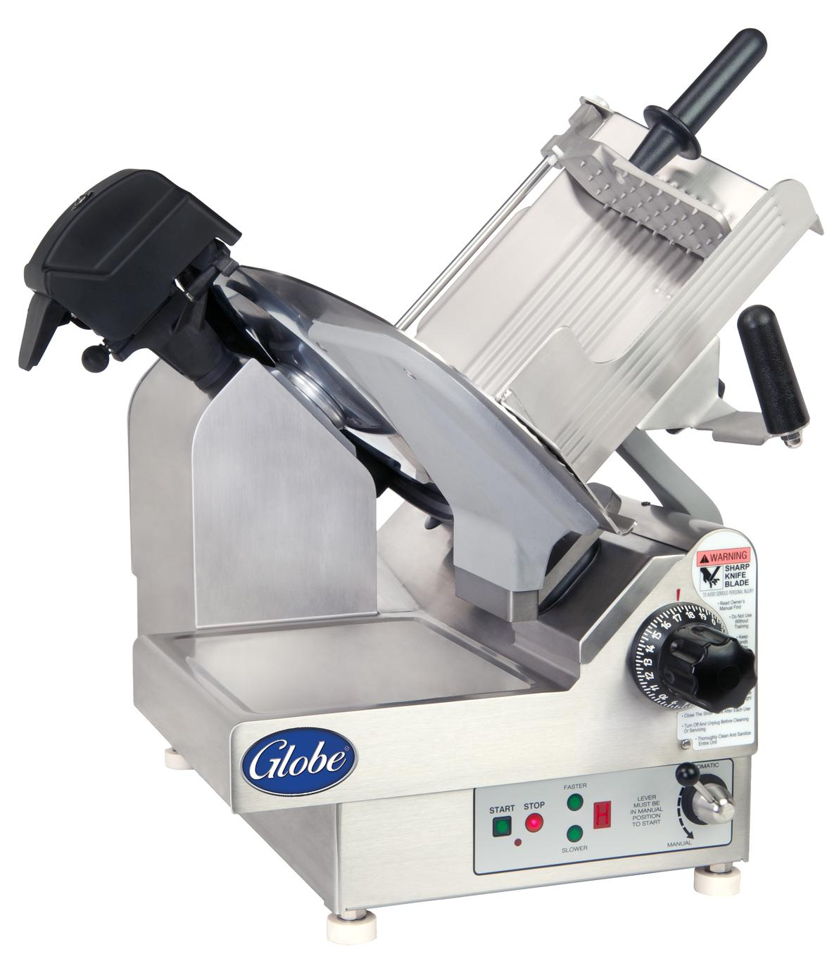 Globe 3975nf 13 Quot Globe Premium Frozen Electric Food Slicer
