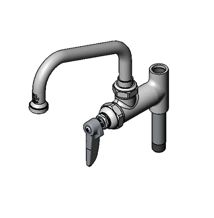 T/&S Brass B-0157-CR Add-On Faucet with Cerama Cartridge and 18 Swing Nozzle