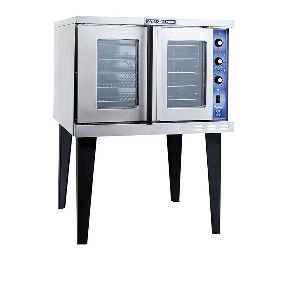 bakers pride gdcoe1 cyclone series full size electric convection oven 208v1ph - Convection Ovens