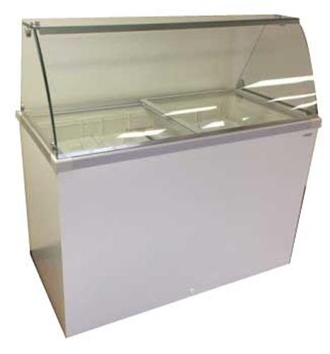 ice cream dipping cabinet 4 flavor deluxe dipping cabinet 8 6 cu ft sub 17466