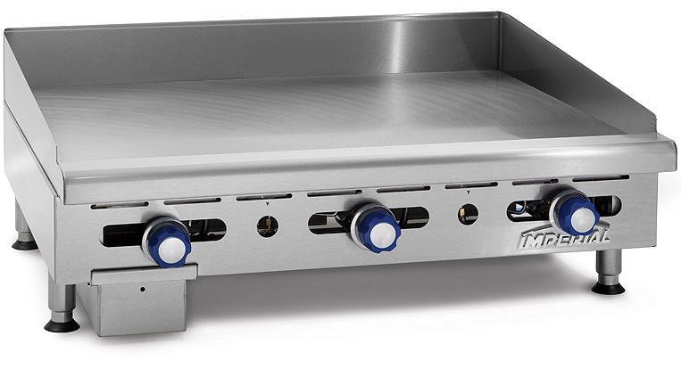 Commercial Flat Griddle Grill ~ Imperial range imga quot commercial gas griddle