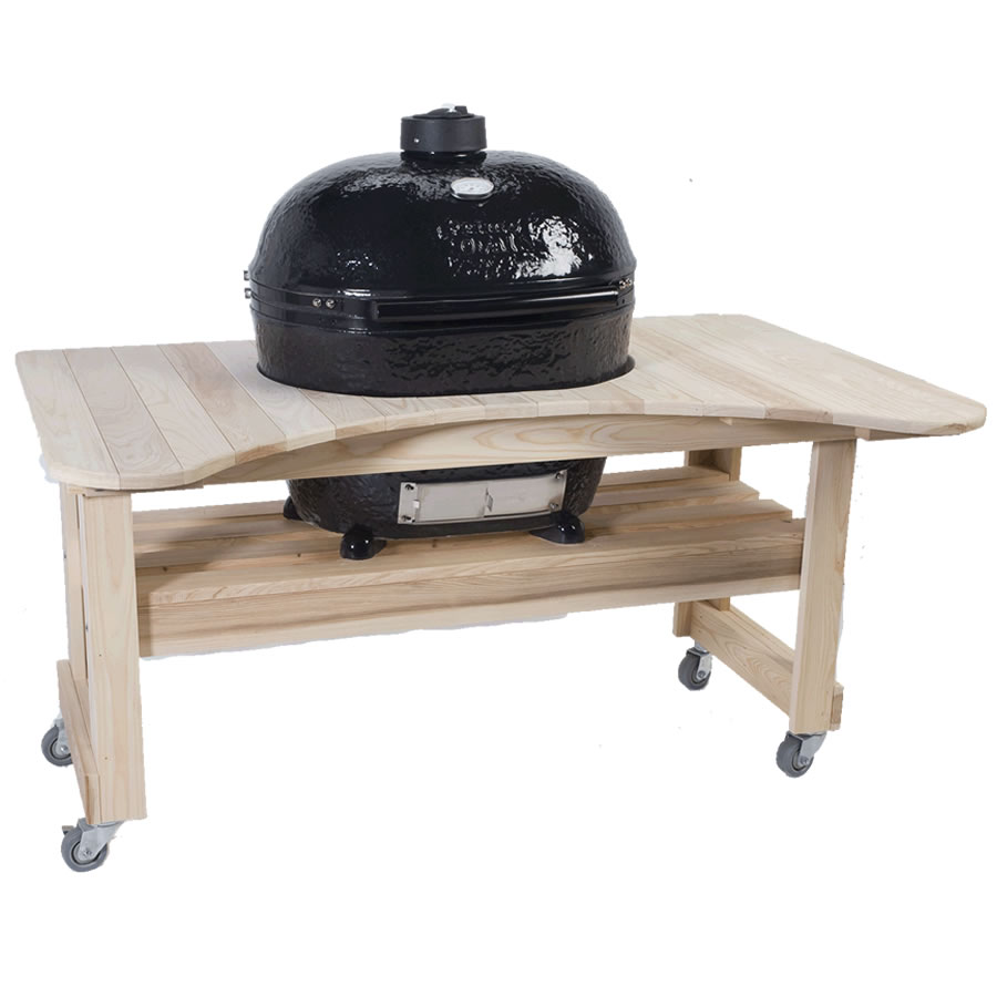 Primo Grills Amp Smokers Prm600 Cypress Stand Table For Oval