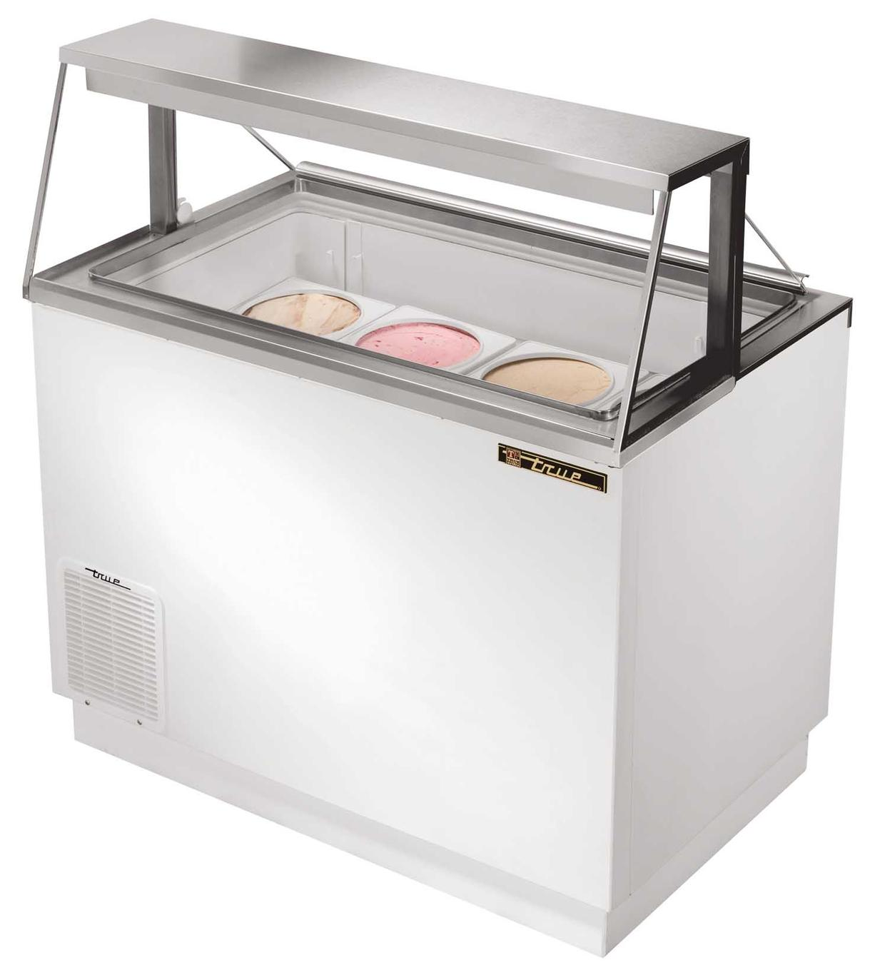 True Tdc 47 8 Flavor Ice Cream Dipping Cabinet Holds 12